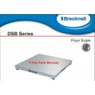 "Brecknell DSB-4848-05 Floor Scale System 48""x48"" NTEP Legal For Trade with Certificate of Calibration  5000 lb x 1 lb"