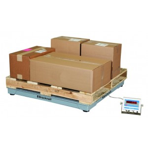 Salter Brecknell DSB-4848-10 NTEP Legal for Trade with Certificate of Calibration 48`` x 48`` Floor Scale 10,000x 2 lb FREE Shipping