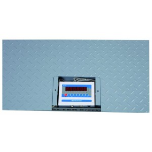 """Brecknell DSB-4848-05 Floor Scale System 48""""x48"""" NTEP Legal For Trade with Certificate of Calibration  5000 lb x 1 lb"""