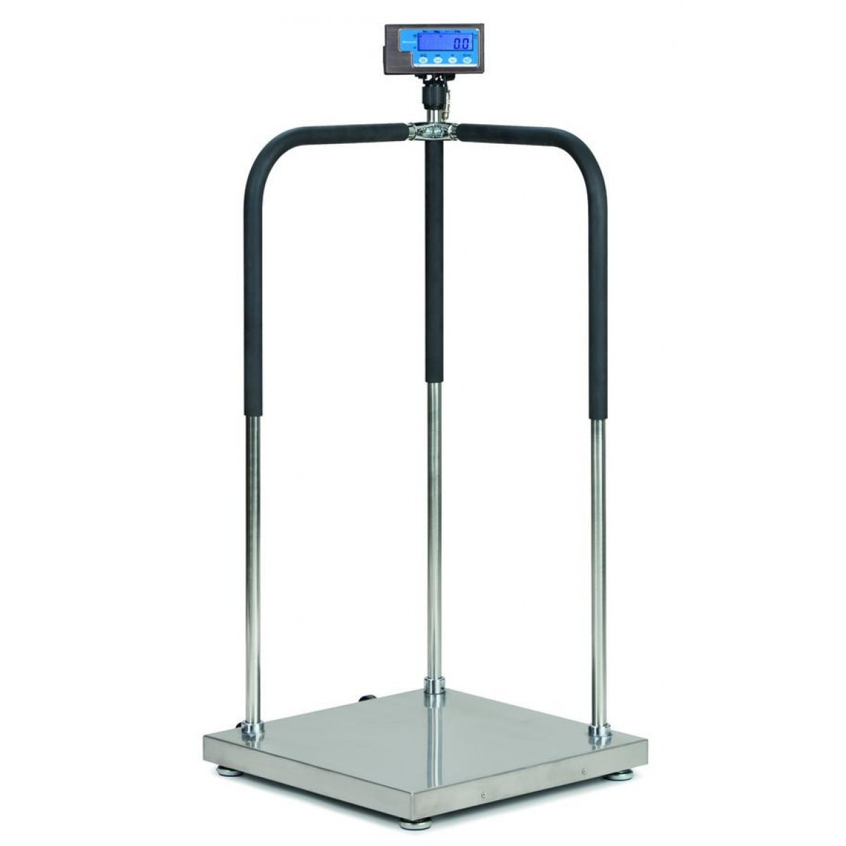 Scale With Handrails : Brecknell ms bariatric physician scale with